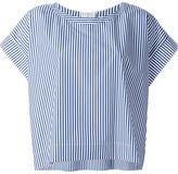 Stella Jean striped boxy top - women - Cotton - 44