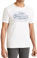 John Varvatos Peace Flag Graphic Tee
