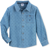 Petit Bateau Boys chambray shirt