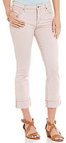 Miraclebody Jeans Promise Roll-Up Twill Crop Jeans