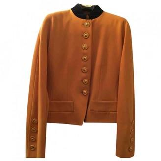 Celine Yellow Wool Jackets