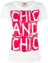 Moschino Cheap & Chic printed t-shirt