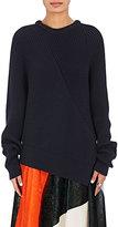 Cédric Charlier Women's Rib-Knit Asymmetric Sweater