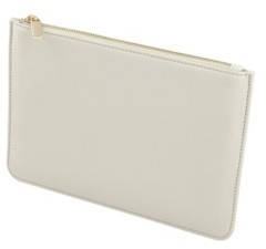 Cathy's Concepts Personalized Embossed Pebble Polyurethane Clutch