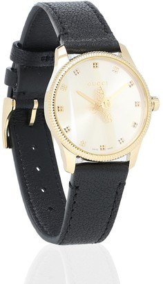 Gucci G-Timeless 29mm leather watch