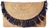 Hat Attack Sunburst Clutch (Natural) Clutch Handbags