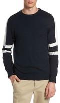 Topman Men's Slim Fit Sport Stripe Sweater