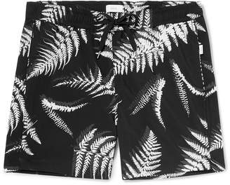Onia Charles Short-Length Printed Swim Shorts