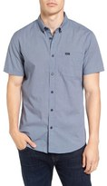 RVCA 'That'll Do' Trim Fit Microdot Woven Shirt