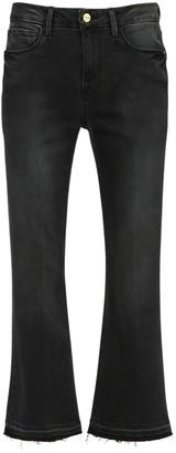 Frame Le Cropped Flared Denim Jeans
