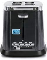B.ella Ultimate Elite Collection 2-Slice Black Stainless Steel Digital Toaster