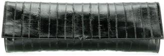 Giuseppe Zanotti textured clutch bag