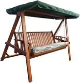 The Import Depot Hammocks & Swings Hanley 2 Seater Outdoor Swing Bed