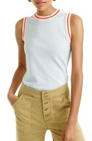J.Crew Women's Jackie Stripe Cotton Shell