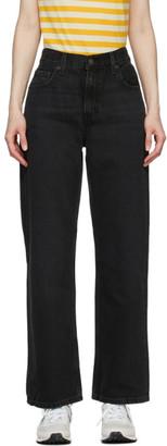 Levi's Levis Black Loose Straight Jeans