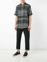 Chapter plaid shirt - men - Polyester/Rayon - L