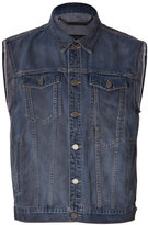 Marc by Marc Jacobs Jean Vest in Indigo Multi