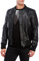 Bellfield Rouey Leather Jacket