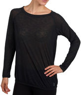 Jockey Long-Sleeve Cool Down Top