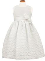 Sorbet Girl's Floral Burnout Fit & Flare Dress