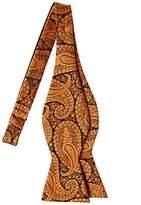 Retreez Paisley Art Pattern Woven Microfiber Self Tie Bow Tie - Various Colors