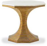 Bunny Williams Home Hourglass Side Table, Gold