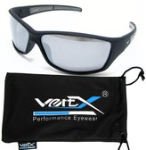 VertX Men's Polarized Sunglasses Sport Cycling Outdoor Soft Rubber Finish - Frame - Mirror Lens