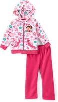 Children's Apparel Network Dora the Explorer Polar Fleece Hoodie & Pants - Toddler