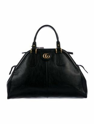 Gucci Medium Re(Belle) Top Handle Bag w/ Tags Black