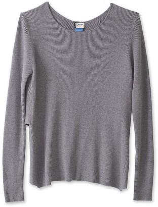 Kavu Women's Pullover Sweaters Grey - Gray Rosebyrne Sweater - Women
