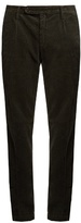Massimo Alba Straight-leg Cotton-corduroy Trousers