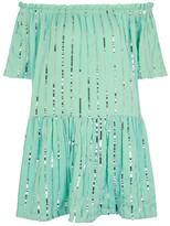 SUNDRESS Bella Sequin-embellished Mini Dress