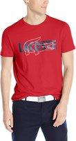 Lacoste Men's Short Sleeve Croc Regular Fit T-Shirt