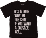 Rock Your Baby Tots Boys Its A Long Way Tee Grey