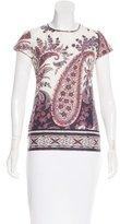 Etoile Isabel Marant Paisley Print T-Shirt