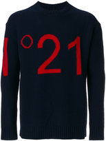 No.21 logo jumper - men - Polyamide/Viscose/Wool - 44