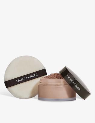 Laura Mercier Set To Perfect translucent loose setting powder and puff set 29g
