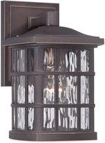 Quoizel Stonington Outdoor Wall Lantern in Palladian Bronze