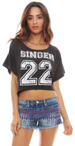 Singer22 Local Celebrity Cropped Tee