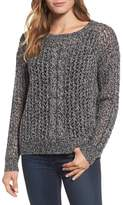 Tommy Bahama Women's Cascade Cable Sparkle Crew Sweater