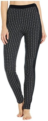 Dale of Norway Stjerne Feminine Leggings (Black/White) Women's Casual Pants