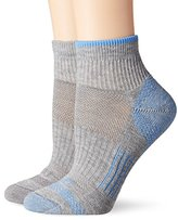 Dickies Women's 2 Pack Sorbtek Moisture Control and Wicking Quarter Socks