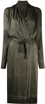 Masnada Belted Wrap Dress