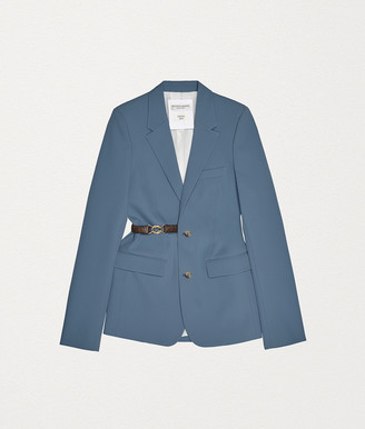 Bottega Veneta Jacket In Techno Gabardine