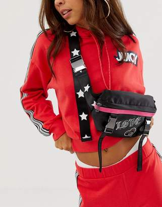 Juicy Couture fanny pack-Black