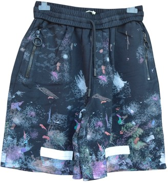 Off-White Black Cotton Shorts
