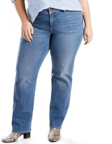 Levi's Plus Size 414 Relaxed Fit Straight-Leg Jeans