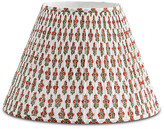 Bunny Williams Home Prickly Poppycape Lampshade - Red/Green
