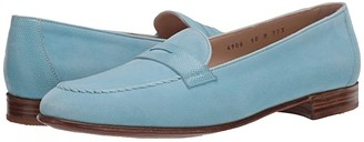 Gravati Penny Loafer (Turquoise) Women's Slip on Shoes
