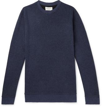 Oliver Spencer Loungewear Ribbed Cotton-Jersey Sweatshirt